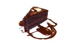 Grafico a torta del cioccolato Fotografia Stock