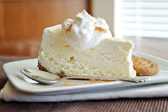 Grafico a torta del gelato Fotografie Stock