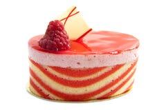 Grafico a torta del lampone Fotografie Stock