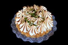 Grafico a torta del limone Fotografie Stock Libere da Diritti