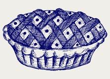 Grafico a torta dell'illustrazione illustrazione vettoriale