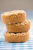 Grafico a torta della briciola del Apple Immagini Stock