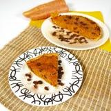 Grafico a torta della carota Fotografia Stock Libera da Diritti