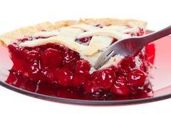Grafico a torta della ciliegia Immagini Stock