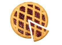 Grafico a torta della ciliegia Immagini Stock Libere da Diritti