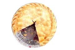 Grafico a torta della ciliegia che manca una fetta Immagini Stock