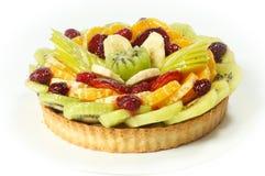 Grafico a torta della frutta Fotografie Stock Libere da Diritti