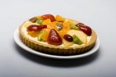 Grafico a torta della frutta immagine stock