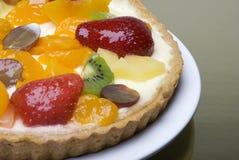 Grafico a torta della frutta immagini stock