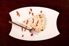 Grafico a torta di Apple Fotografia Stock