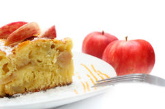 Grafico a torta di Apple Immagini Stock