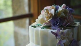 Grafico a torta 8 di cerimonia nuziale stock footage