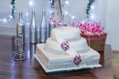 Grafico a torta 8 di cerimonia nuziale fotografia stock