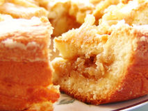 Grafico a torta di mela casalingo Immagine Stock