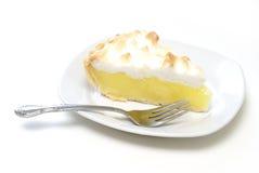 Grafico a torta di meringa di limone immagini stock libere da diritti