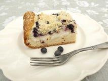 Grafico a torta di mirtillo Fotografie Stock