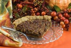 Grafico a torta di pecan Fotografia Stock