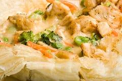 Grafico a torta di POT del pollo Fotografia Stock Libera da Diritti