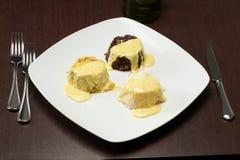 Grafico a torta di riso Fotografia Stock