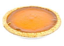 Grafico a torta di zucca Fotografie Stock
