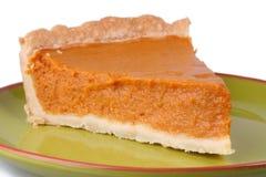 Grafico a torta di zucca fotografie stock libere da diritti