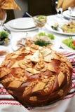 Grafico a torta tradizionale Fotografie Stock