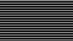Graficzna abstrakcja horyzontalne białe linie wzrasta up na czarnym tle ilustracji