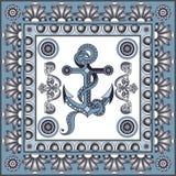 Graficzna ilustracja z ceramicznymi płytkami 15 royalty ilustracja