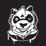 Graficzna panda Zdjęcia Stock