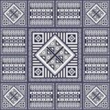 Graficzna tekstura z meksykanina wzorem 33 royalty ilustracja