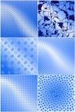 graficzne tekstury niebieskie ilustracja wektor