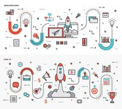 Graficznego projekta ilustracji paczka ilustracji