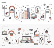 Graficznego projekta Ilustracyjny plik royalty ilustracja
