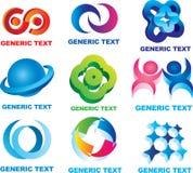 graficzni symbole Zdjęcia Royalty Free