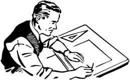 Graficzny artysta royalty ilustracja