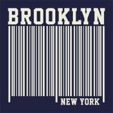 Graficzny Brooklyn nowy York Fotografia Stock