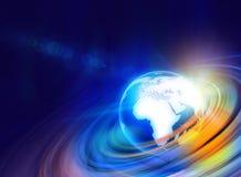 Graficzny Cyfrowego świat background3 Zdjęcia Royalty Free