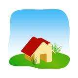 graficzny dom Zdjęcie Royalty Free