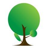 Graficzny drzewny piękny sezon Zdjęcia Royalty Free