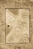 Graficzny ornament na ścianie Hiszpańszczyzna wzoru styl Fotografia Royalty Free