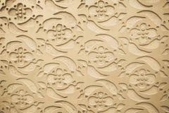 Graficzny ornament na ścianie Hiszpańszczyzna wzoru styl Zdjęcie Stock