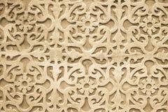 Graficzny ornament na ścianie Hiszpańszczyzna wzoru styl Zdjęcie Royalty Free