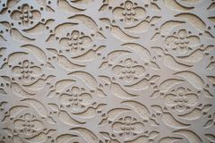 Graficzny ornament na ścianie Hiszpańszczyzna wzoru styl Obrazy Royalty Free