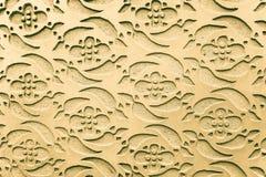 Graficzny ornament na ścianie Hiszpańszczyzna wzoru styl Fotografia Stock
