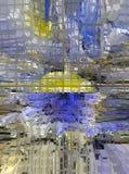 Graficzny projekt jest abstrakcjonistyczny Graficzne sztuki abstrakcja struktura royalty ilustracja