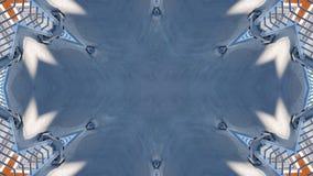 Graficzny projekt lustrzany skutek ilustracja wektor