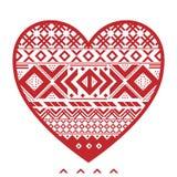 Graficzny serce Zdjęcie Stock