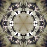Graficzny wizerunek z kalejdoskopu stylu projekta abstraktem ilustracja wektor