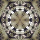 Graficzny wizerunek z kalejdoskopu stylu projekta abstraktem royalty ilustracja