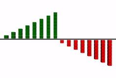 Grafiek Stock Afbeelding